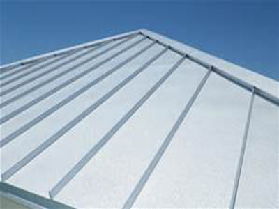 Low Sloping Standing Seam Commercial Metal Roofing 910